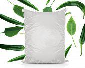 White Blank Foil Food Bag