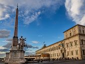 View Of Quirinal's Square, Rome, Italy
