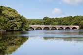 Eight Arch Bridge Over Bosherston Lakes