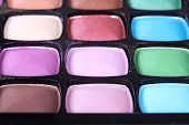 Multicolor Make-up Eyeshadows