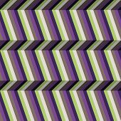 Abstract Optic Illusion Stripes