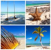Caribbean Travel Collage
