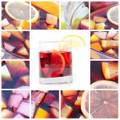 pic of sangria  - Cocktail collage - JPG