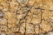 Crumbling Layered Limestone Texture