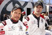 LONG BEACH - APR 1: Nick Wechsler, Sam Witwer at the 37th Annual Toyota Pro/Celebrity Race Practice