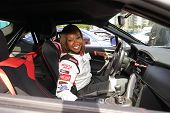 LONG BEACH - APR 1: Carmelita Jeter at the 37th Annual Toyota Pro/Celebrity Race Practice Day on Apr