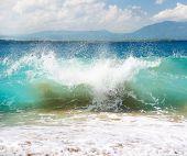 Big Ocean Wave, Atlantic Ocean, Dominican Republic