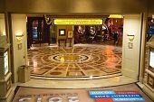 Lobby In Caesar's Palace In Las Vegas