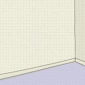 Empty Room In Halftone