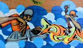 Street art Montreal Jazz