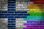 Dark Brick Wall - Lgbt Rights - Finland