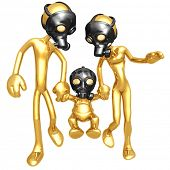 Gas Mask Family