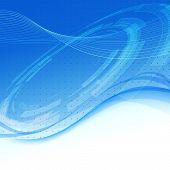 Blue Wave - Modern Tech Background