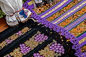 Traditional Romanian Materials Embroidered