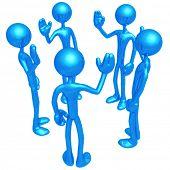 A Team Raising Hands On Vote