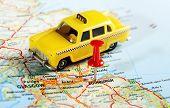 Edinburgh Scotland Taxi Map