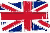 Grunge Britain Flag