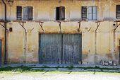 Derelict Friulian Agricultural Building