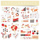 Set Of Infographics Design Elements