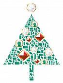 Christmas Tree Of Gems