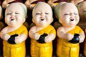 little buddhist monk dolls