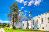 Russia Veliky Novgorod Yuriev Monastery