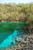 Lago Di Cornino In Spring