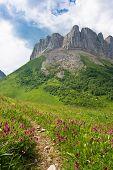 Beautiful Caucasian Mountains