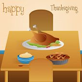 Thanksgiving day background