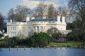 The Holme, A Grade I Listed Regency Villa In Regent's Park, London, England, Uk