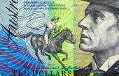 Australian zehn Dollar-note