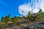 Cross on the Mountain