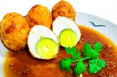 Eggs in Tamarind Sauce