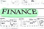 Finance Data Concept