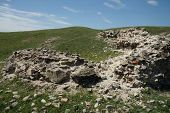 picture of hamlet  - Troesmis was a city located in northwest Dobrogea (Tulcea county, Romania), on the Danube, near Balta and former hamlet lacer. ** Note: Soft Focus at 100%, best at smaller sizes - JPG
