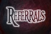 Referrals Concept
