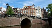 Amsterdam - Canals And Typical Dutch Houses