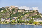 Fortress Ehrenbreitstein In Koblenz