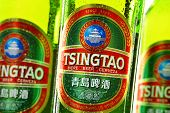 Composition With Bottles Of Tsingtao Beer