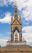The Albert Memorial in Kensington Gardens,