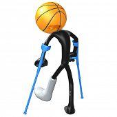 Injured Basketball Player