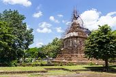 The Ancient Pagoda Is Under Renovation