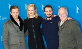 BERLIN, GERMANY - FEBRUARY 06: Nicole Kidman, Damian Lewis, James Franco, Werner Herzog, photocall during the 65th Film Festival at Hyatt Hotel on February 6, 2015 in Berlin, Germany.