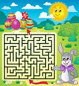 foto of maze  - Maze 3 with Easter theme  - JPG