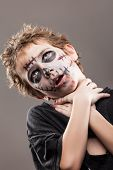 foto of walking dead  - Halloween or horror concept  - JPG