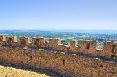 stock photo of swabian  - Swabian Castle of Rocca Imperiale - JPG