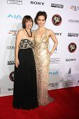LOS ANGELES - FEB 8:  Gale Anne Hurd, Erin Carufel at the 2015 Society Of Camera Operators Lifetime Achievement Awards at a Paramount Theater on February 8, 2015 in Los Angeles, CA