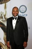 LOS ANGELES - FEB 6:  Anthony Anderson at the 46th NAACP Image Awards Arrivals at a Pasadena Convention Center on February 6, 2015 in Pasadena, CA