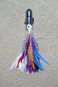 Feather Skirted Lure For Big Game Angler Fish