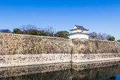 image of castle  - Osaka Castle is a Japanese castle in Ch - JPG